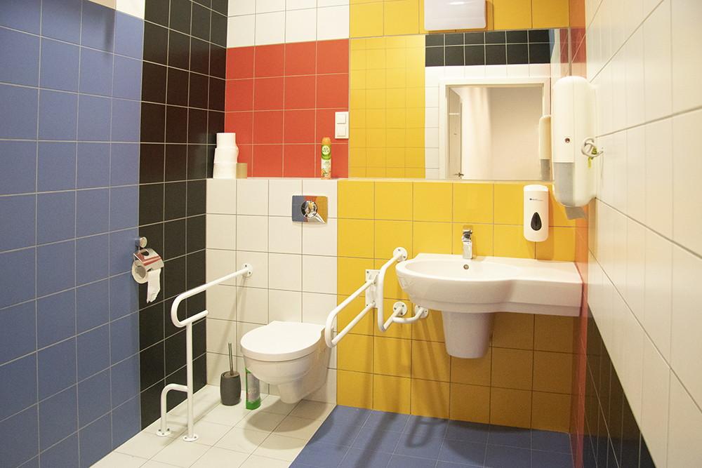 widok ogólny toalety