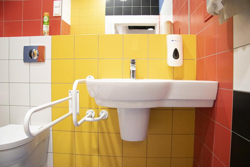 zdjęcie umywalki w łazience