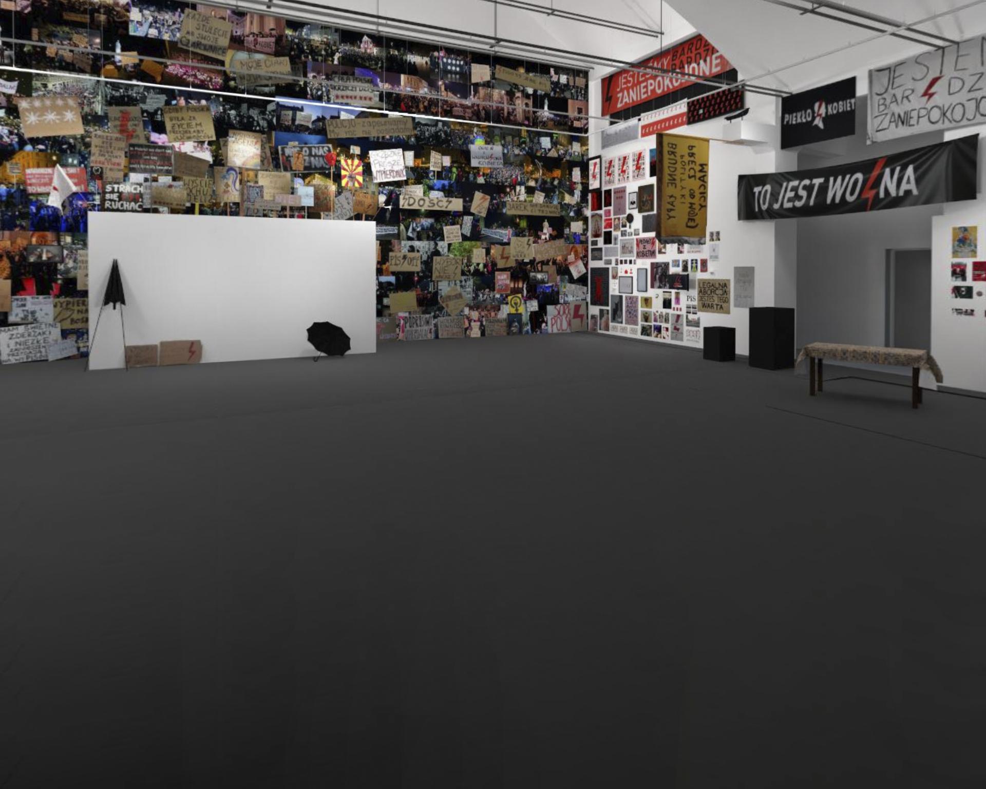 Wirtualna edycja wystawy Nigdy nie będziesz szła sama