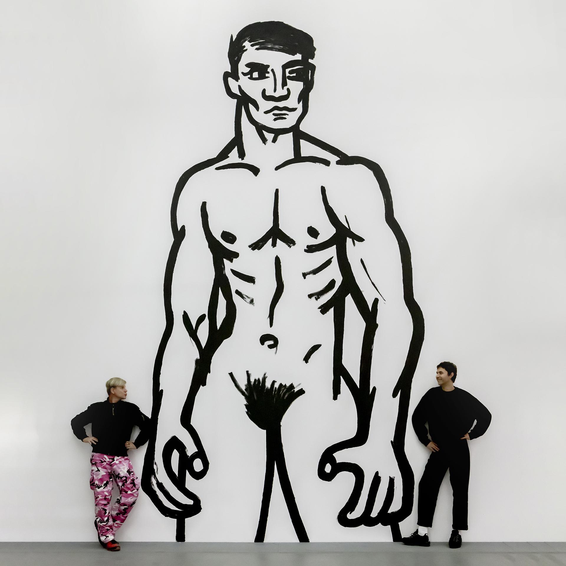 """Finisaż wystawy """"Ménage à Deux""""   oprowadzania i spotkanie z artystami"""
