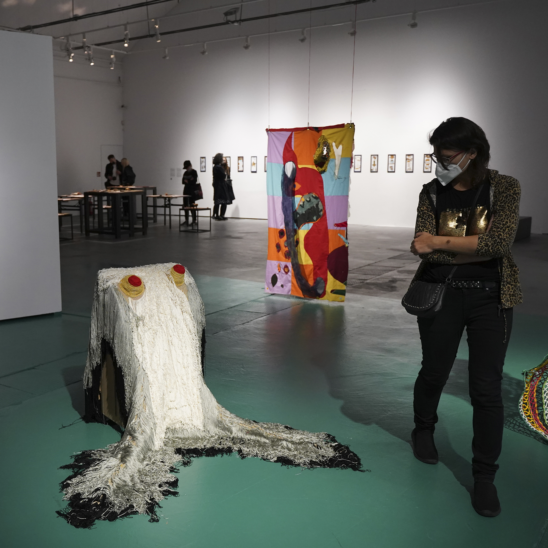 """Let us guide you around! – exhibitions """"Mame-Loshn"""", """"Monument to the Victims of Biopower"""", """"Art of Forgiveness"""""""